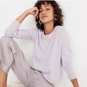 Madewell Cashmere Sweater Dusted Lavender
